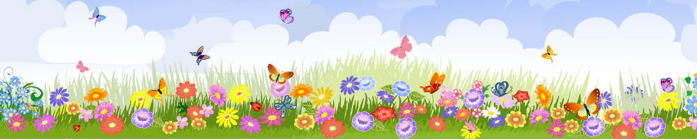 Butterflies and flowers image